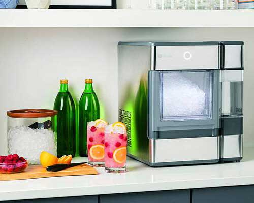 #1. GE Profile Opal Portable Bluetooth-Enabled Quick & Powerful Electric Countertop Nugget Ice Maker