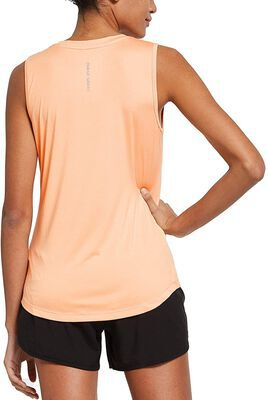 9. Baleaf Sleeveless Crew Neck Workout Tops for Women with Standard Fit