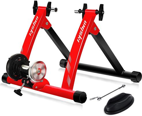 1. Unisky Bike Trainer Stand with Noise Reduction System