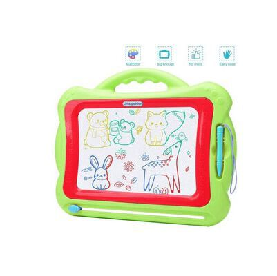 8. Pozzolanas Green Doodle 4 color Drawing Board Toy for Kids for Early Learning