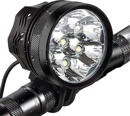 3. LAFALInK Super Bright Waterproof Bicycle Headlight with 9000mAh rechargeable battery