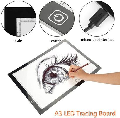 6. Ticktecklab USB Powered Artcraft Light Pad for Tracing for Drawing and Sketching Artists