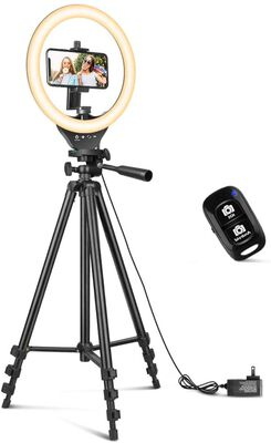 9. Sensyne Multifunctional Adjustable Ring Light with Stand Compatible with All Phones