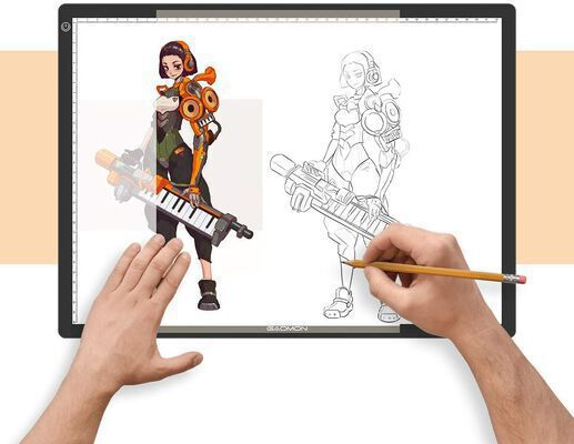 2. Gaomon Professional Tattoo Light Pad for Tracing for Artists and Photographers
