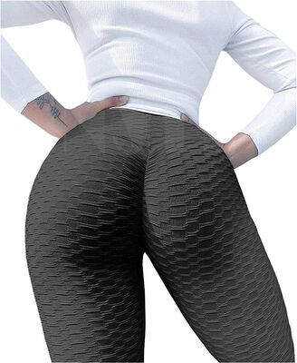10. CFR Anti Cellulite Butt Scrunch Textured for Sexy Booty Push Up Yoga Lift Leggings