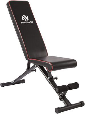 8. ADVENOR Adjustable Weight Bench- Ideal for Home Gym