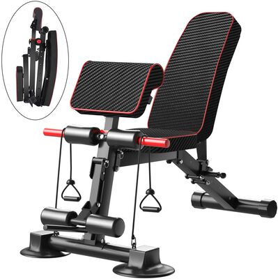 2. KiNGKANG Adjustable Weight Bench for Home Gym