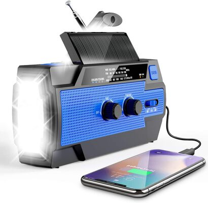 5. Esky Daily Alerts Emergency SOS Alarm and Radio with LED lamp and NOAA channels