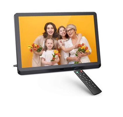 10. Anteam 10 Inch Display Digital Photo Frame with Video Player and Calendar Function