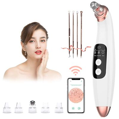 1. Amzgirl Gold 3 Adjustable Suction Power Blackhead Remover Pore Vacuum for Women