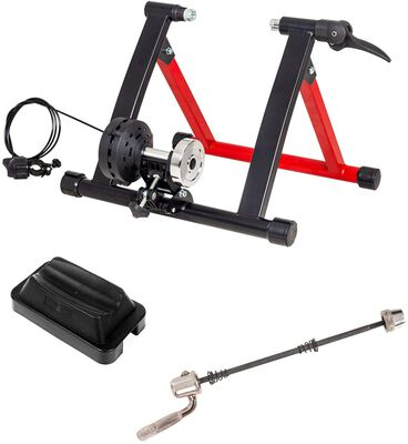 3. Puluomis Bike Trainer Stand, 8 Resistance Levels