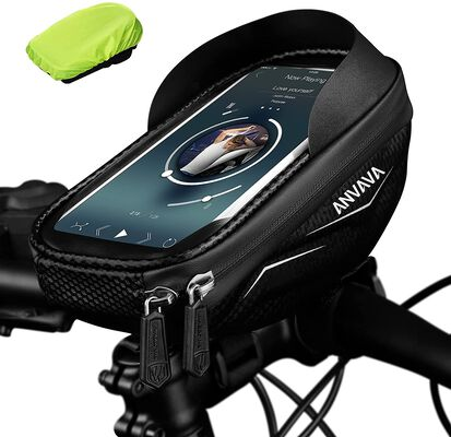 7. Anvava Dustproof Well Cushioned Bike Phone Holder Bag for All Kinds of Riding