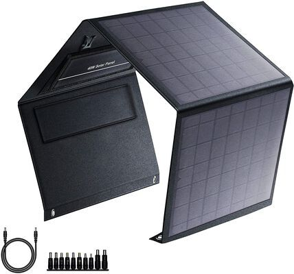 10. SinKeu Portable Solar Panel with Fast Charging Technology for Outdoor Camping