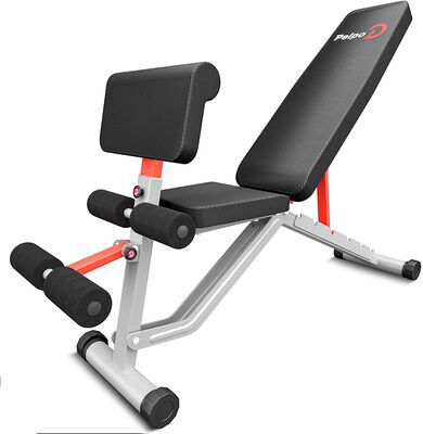 6. pelpo Adjustable Weight Bench supports up to 660LBS