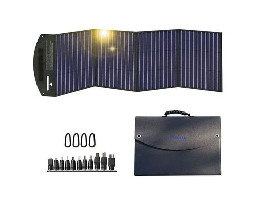 6. Itehil High-Efficiency Portable Solar Panel with a Foldable Design for Picnics