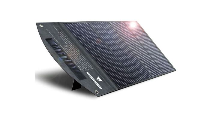 5. Itehil Monocrystalline Portable Solar Panel for Power Stations during Outdoor Camping