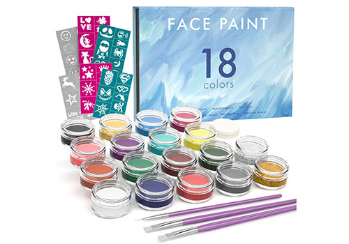 Top 10 Best Face Paint Kits In 2019 Reviews