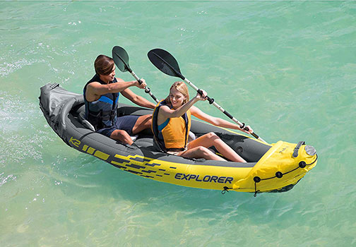 Top 10 Best Inflatable Kayaks in 2019 Reviews