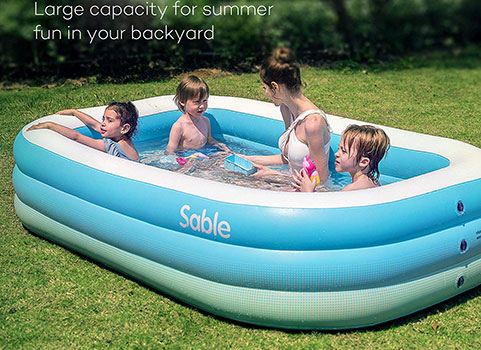 Top 10 Best Inflatable pools for outdoor In 2019 Reviews