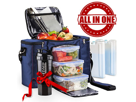 Top 10 Best Meal Prep Bags in 2019 Reviews