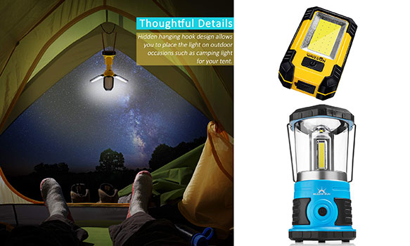 Top 10 Best Portable Camping Light in 2019 Reviews