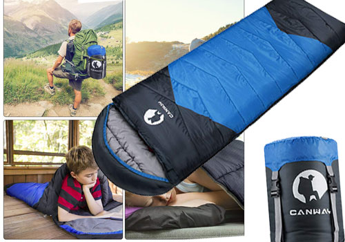 Top 10 Best Waterproof Sleeping Bags for Camping in 2019 Reviews
